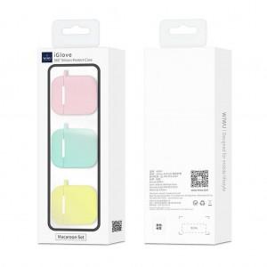 Apple Airpods Kılıf 3 Lü Set Wiwu iGlove Macaron Case