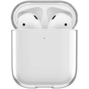 Apple Airpods Kılıf Sert Polikarbon Kristal Şeffaf Kılıf