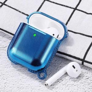 Apple Airpods Kılıf Wiwu Grace Electroplate Case Metalik Silikon