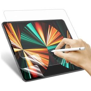 Apple iPad Pro 12.9 2021 XDR Ekran Koruyucu Paper Like Mat Film Kağıt Hissi Pencil Stylus Kalem Uyum