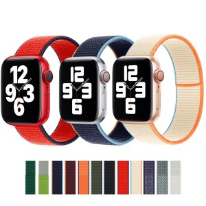 Apple Watch Kordon 2 3 4 5 6 SE 38 40 42 44 mm Dokuma Kordon
