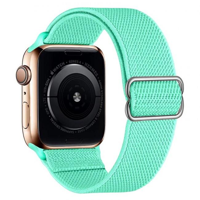 Apple Watch Kordon 42 mm 44 mm Ayarlı Elastik Solo Loop Kordon