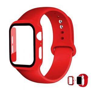 Apple Watch Kordon 44 mm 2 3 4 5 6 SE Kordon + Kasa Koruyucu