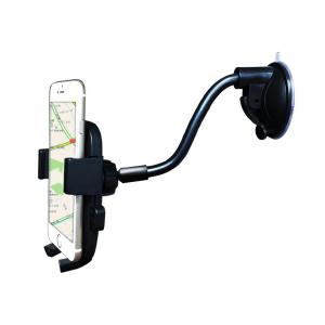 Araç İçi Telefon Tutucu-Cama Yapışan Vantuzlu Teleskobik (JS-011)