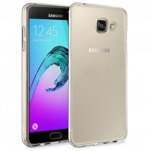 Samsung Galaxy A9 Silikon Kılıf + Temperli Cam