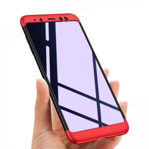 Samsung Galaxy A8 2018 Kılıf GKK 360 Derece Koruma (EEE08UFR)