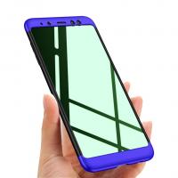 Samsung Galaxy A8 Plus 2018 Kılıf GKK 360 Derece Koruma-HNN12