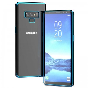 Samsung Galaxy Note 9 Kılıf Silikon Shining Parlak Lazer