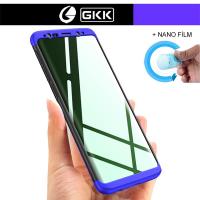 Samsung Galaxy S9 Plus Kılıf GKK 360 Derece + Ön Film (FSF78)