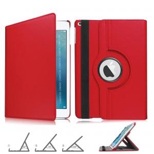 iPad 7 Nesil Kılıf 10.2 inch A2197 A2200 A2198 360 Dönerli Yatay Dikey Standlı