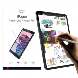 iPad 8. Nesil 10.2 inch Ekran Koruyucu Film Wiwu iPaper Like Pencil Stylus Kalem Uyum Kağıt Hissi