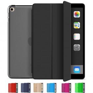 iPad Mini 2 Kılıf A1489 A1490 A1491 Smart Cover Yatay Dikey Standlı Arkası Şeffaf
