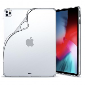 iPad Pro 11 2020 2. Nesil Kılıf A2228 A2068 A2230 A2231 Şeffaf Yumuşak Arka Silikon Kılıf