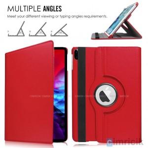 iPad Pro 12.9 2020 Kılıf A2229 A2069 A2232 A2233 360 Derece Standlı Deri Yatay ve Dikey Standlı