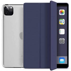 Apple iPad Pro 12.9 2021 XDR Kılıf Smart Case Arkası Şeffaf Standlı Kılıf