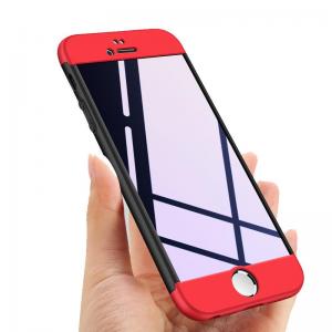 iPhone 8 Plus Kılıf (5.5) GKK 360 Derece Tam Koruma 3in1 Trio
