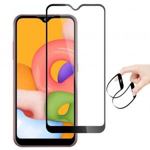 Samsung Galaxy A01 Ekran Koruyucu 3D Ekranı Tam Kaplayan Nano Cam