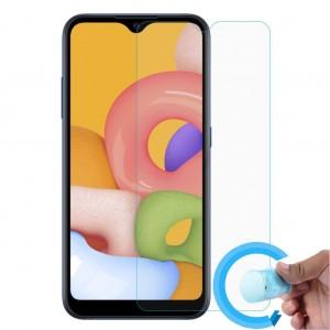 Samsung Galaxy A01 Ekran Koruyucu Nano Esnek Cam 9H Şeffaf