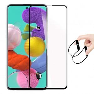 Samsung Galaxy A51 Ekran Koruyucu 3D Tam Kaplayan Nano Esnek Cam