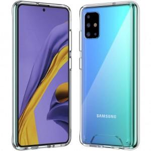Samsung Galaxy A71 Kılıf Şeffaf Gard Zırh Kılıf Kamera Korumalı