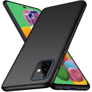 Samsung Galaxy A51 Kılıf Mat Slim Kamera Korumalı Kadifemsi Yüzey