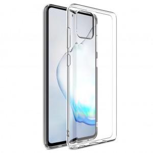 Samsung Galaxy Note 10 Lite Kılıf Şeffaf Kamera Korumalı Tıpalı