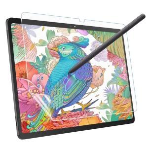 Samsung Galaxy Tab A7 T500 Ekran Koruyucu Paper Like Kağıt Hissi Pencil Kalem Destekli Mat Film