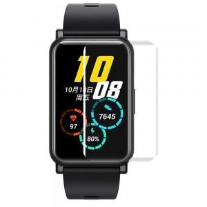 Huawei Watch Fit Ekran Koruyucu TPU Tam Kaplayan Nano Esnek Film