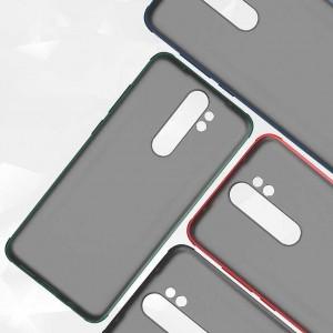 Xiaomi Redmi Note 8 Pro Kılıf Airbag Kenar Darbe Emici Odyo Case